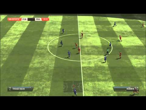 FIFA 13 CASCAREANDO ENTRE FC BAYERN MUNCHEN  VS PARIS SAINT GERMAIN