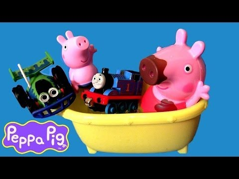 Peppa Pig Color Changers Bathtime Muddy Puddles Cars Disney Pixar Toy Story Thomas Nickelodeon Toys