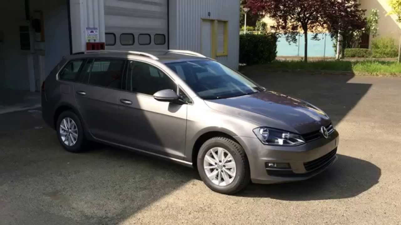coccicar golf 7 sw confortline gris limestone youtube