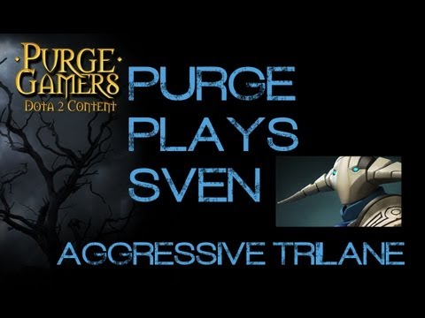 Dota 2 Purge plays Sven