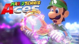 MARIO TENNIS ACES #1 : La raquette maudite