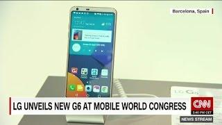 LG unveils new G6 smartphone