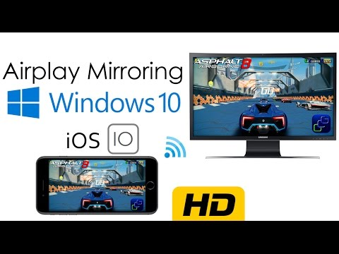 How to enable AirPlay Mirroring on Windows | No Paid Software, No Cables | iOS 7,8 ( HD 1080p)
