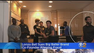 Lakers Point Guard Lonzo Ball Sues Co-Founder Of Big Baller Brand