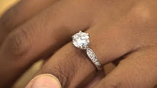 Thief steals a woman's engagement ring at nail salon   What Would You Do?   WWYD