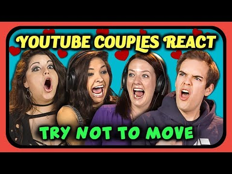 YOUTUBERS REACT TO TRY NOT TO MOVE CHALLENGE