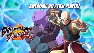 Awesome High level Hit/Tien play![DBFZ][NO ANNOUNCER]