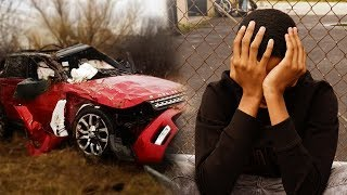 I CRASHED MY 2018 RANGE ROVER.....