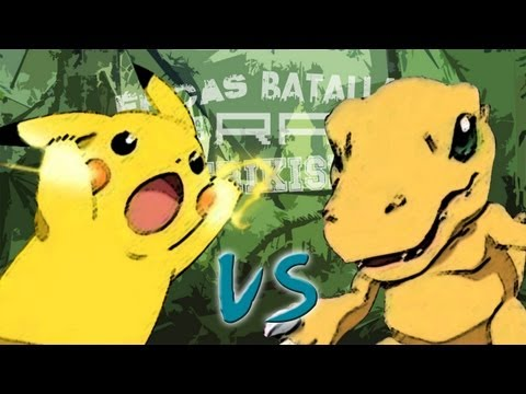 Pikachu vs Agumon. Épicas Batallas de Rap del Frikismo | Keyblade