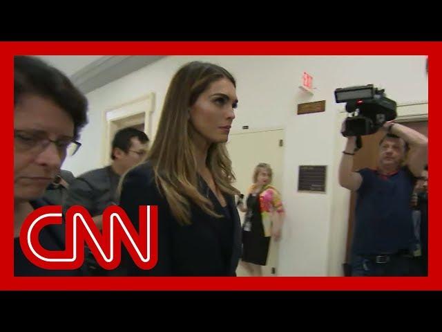 Ex-Trump confidante Hope Hicks testifying before Congress thumbnail