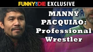 Manny Pacquiao Becomes A Professional Wrestler