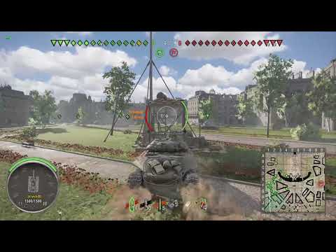 World of Tanks Xbox one Object 252U Defender (funny 2mins in )