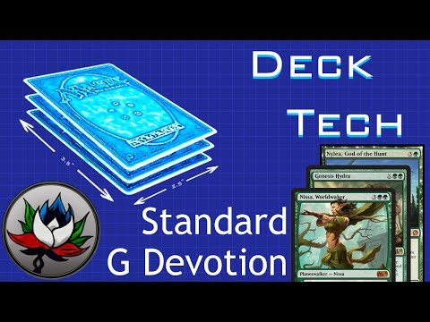 Mono Green Devotion Standard Deck Tech -- M15!