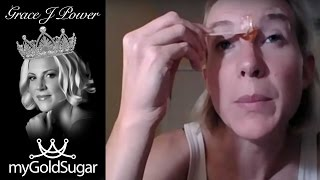 Eyebrow Sugaring using 3 Methods by Grace Power - Vadazzle.com