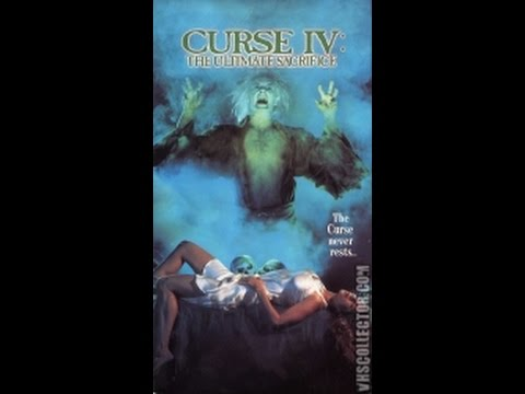 Opening To Curse IV:The Ultimate Sacrifice 1993 VHS