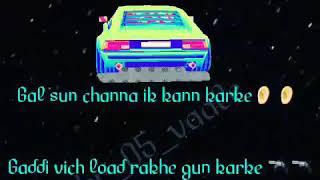 Gal sun channa ik kan kar ke    punjabi latest new love romantic watsapp status video 2017