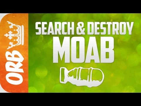 MW3: Search & Destroy MOAB on Terminal - HOLY B@LLZ (1080p)