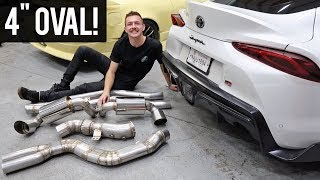 World's First A90 Supra Exhaust Install Vlog!