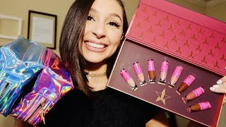 JEFFREE STAR UNBOXING + MINI NUDES BUNDLE VOLUME 2 REVIEW