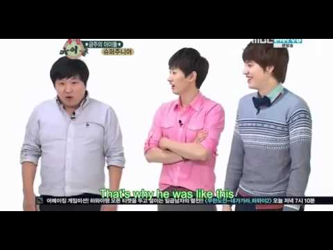 121006 Super Junior fails recognise their own song 