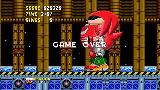I thought this was Sonic 2! (KNUCKLES edition)