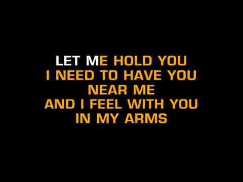 Lionel Richie-truly (karaoke) video