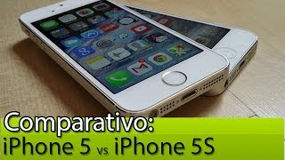 Comparativo: iPhone 5 vs iPhone 5S | Tudocelular.com