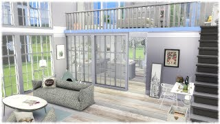 The Sims 4: Speed Build // MY DREAM LOFT + CC LINKS