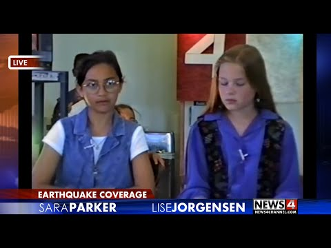 Children's Project: Earthquake! The News Story - simulated breaking news