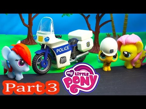 MLP Fash'ems Rainbow Dash Fluttershy Shopkins ROAD TRIP RV Camper My Little Pony Video Series Part 3