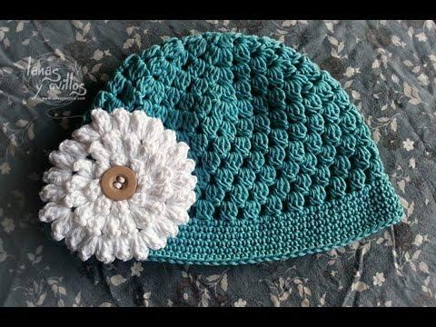 Tutorial Gorro Bebé Fácil Crochet