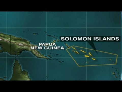 Reports of flooding in Solomon Island