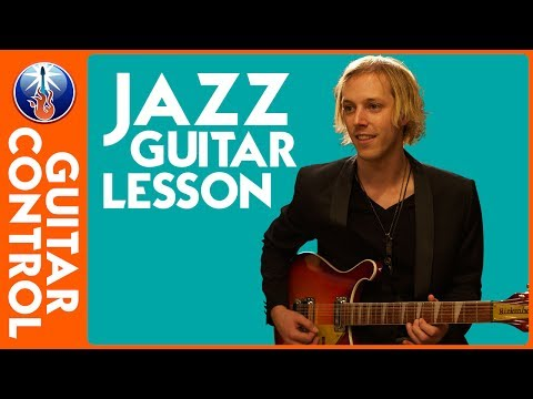 Jazz Guitar Lesson - Jazz Chord Melody In The Style Of Barney Kessel