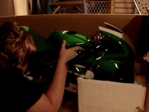Unboxing my pocket bike MTX!