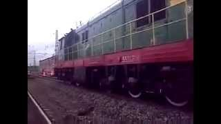 Beatboxing by the locomotive / Битбокс из поезда