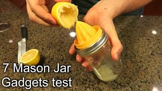 7 Mason Jar Gadgets Put to the Test