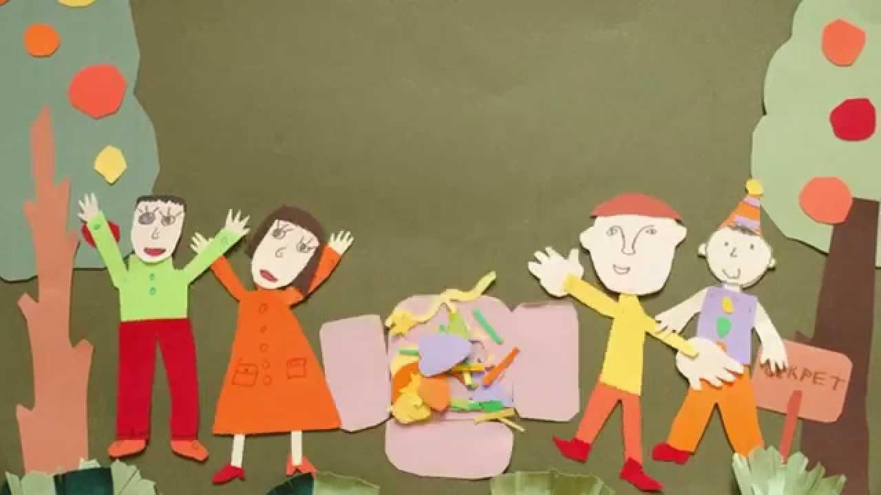 Как сделать мультик с ребенком