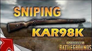 Sniping in PUBG XBOX