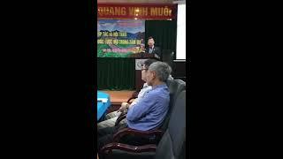 Hợp tác Song Hỉ-Hiệu trưởng trường Đại học công nghiệp dệt may Hà Nội phát biểu