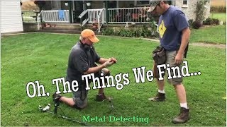 The Things We Find - Metal Detecting Old Houses for Lost & Forgotten Objects