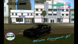 Vice City vehicle tuning