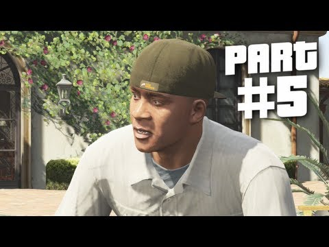 Grand Theft Auto 5 Gameplay Walkthrough Part 5 - Pulling Favors (GTA 5)