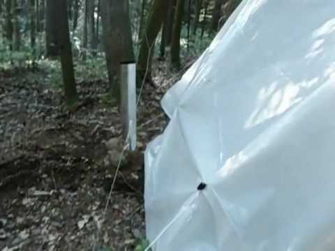 DIY  tent winter wood stove under $5