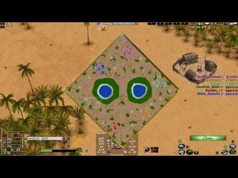 Age of mythology the TITANS 3V3 online match