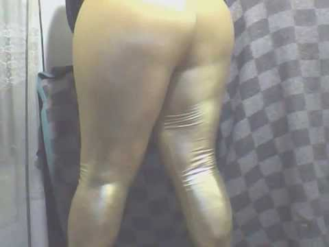 gold spandex shiny leggings leggins tight booty calzas lycra oro suplex mallones mallas panty