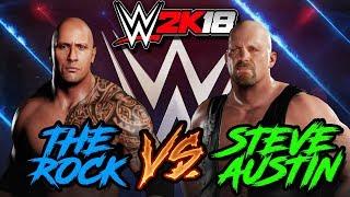 WWE 2K18 | The Rock vs Stone Cold Steve Austin