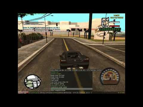 GTA CHEAT M0d S0beit 4.3.1.2 NEW 13/12/2011 0.3d SA:MP Gta San Andreas gameplay