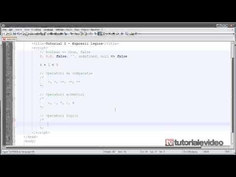 JavaScript Tutoriale Video In Limba Romana Nr.2