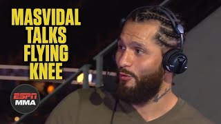 Jorge Masvidal talks flying knee KO of Ben Askren | UFC 239 | ESPN MMA