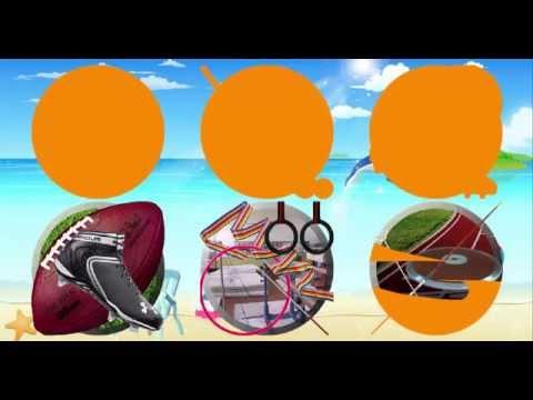 Развивающее видео для детей - летние виды спорта. Мультики для детей от 4-х лет.